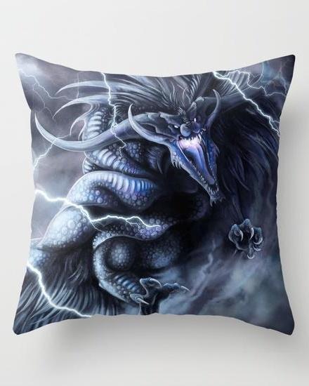 Libra - The Vortex Throw Pillow