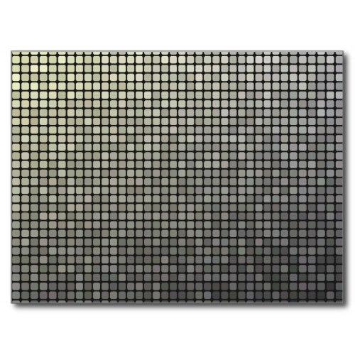 Grey pixel pattern Postcard