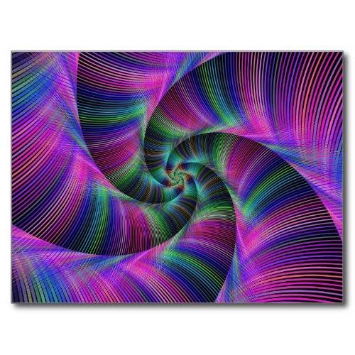 Spiral tentacles Postcard