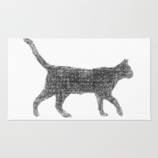 Dust kitten Rug