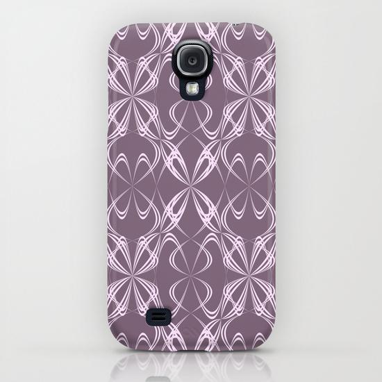 Calligraphy pattern Samsung Galaxy S4 Case