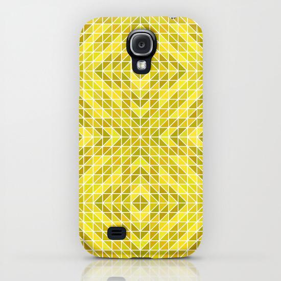 Geometry of the Sun God Samsung Galaxy S4 Case