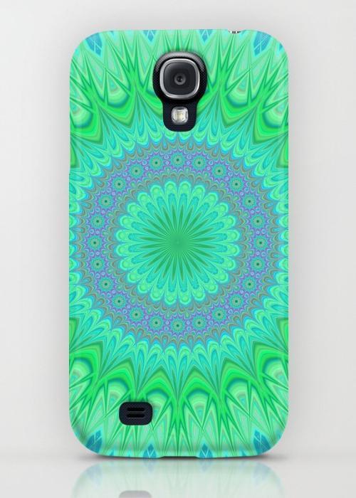 Crystal mandala Samsung Galaxy S4 Case