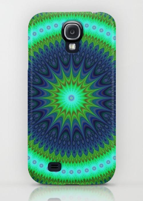 Winter mandala Samsung Galaxy S4 Case