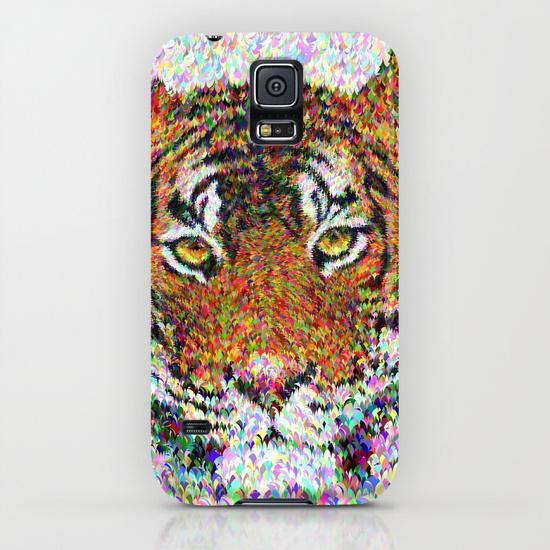 Tiger head Samsung Galaxy S5 Case