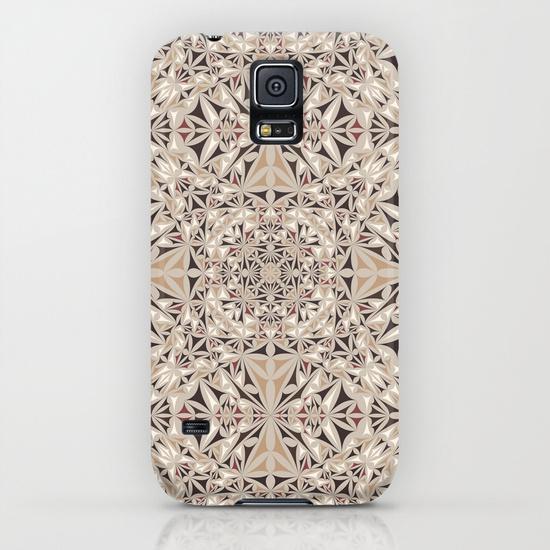 Capuccino pattern Samsung Galaxy S5 Case
