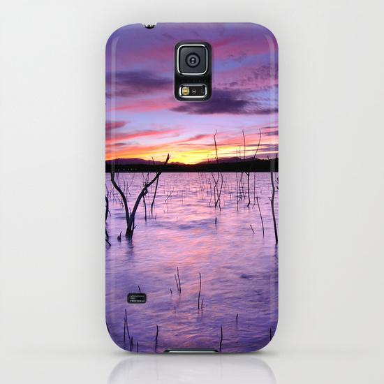 Purple waters Samsung Galaxy S5 Case