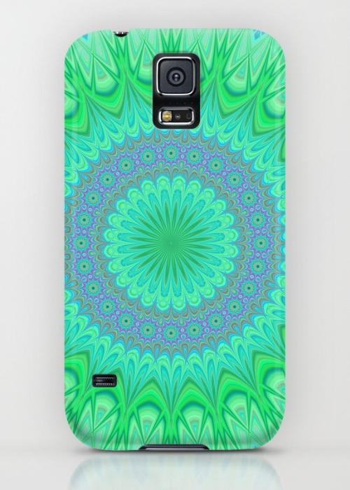 Crystal mandala Samsung Galaxy S5 Case