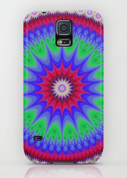 Happy mandala Samsung Galaxy S5 Case