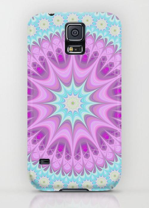 Girly mandala Samsung Galaxy S5 Case