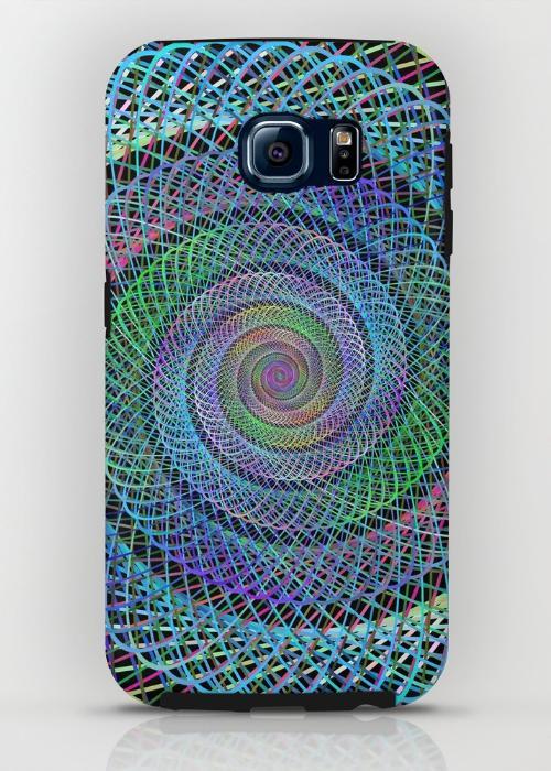 Spiral Samsung Galaxy S6 Tough Case
