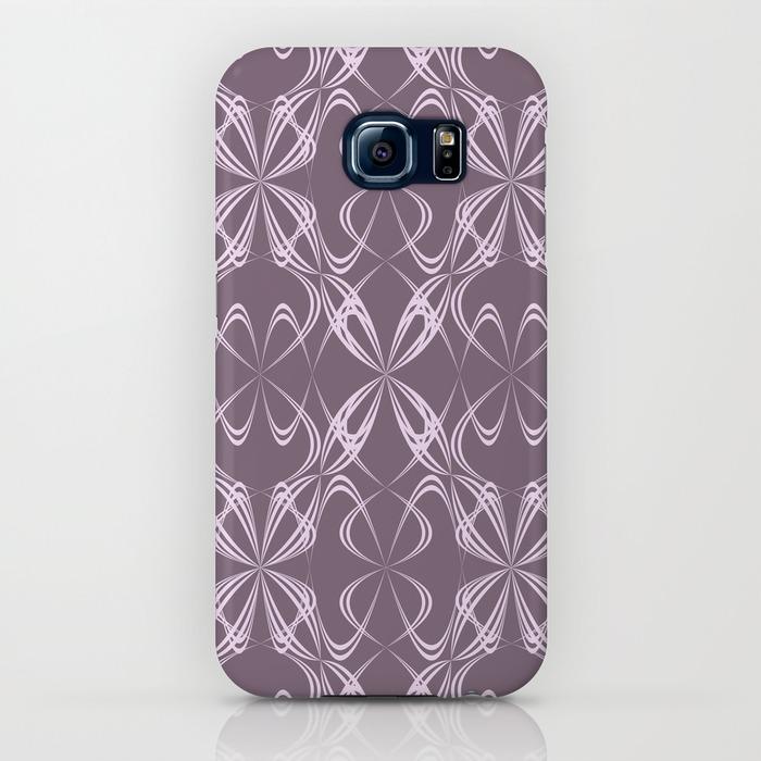 Calligraphy pattern Samsung Galaxy S6 Case