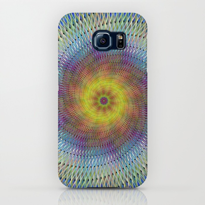 Psychedelic spiral Samsung Galaxy S6 Case