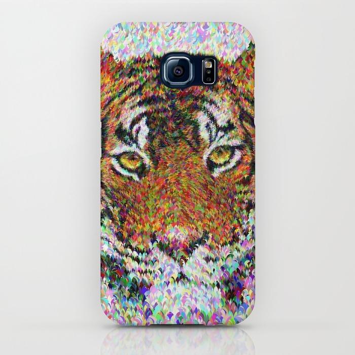 Tiger head Samsung Galaxy S6 Case