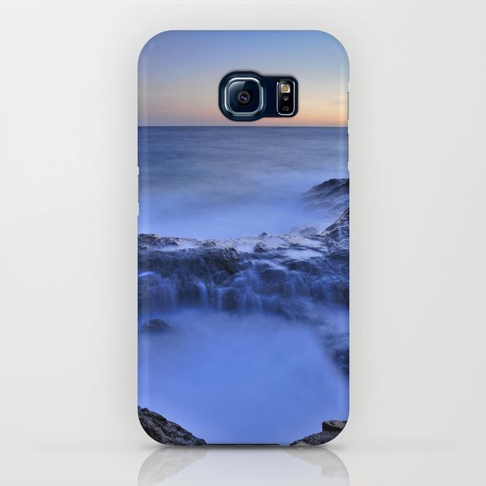 Blue seaside Samsung Galaxy S6 Case