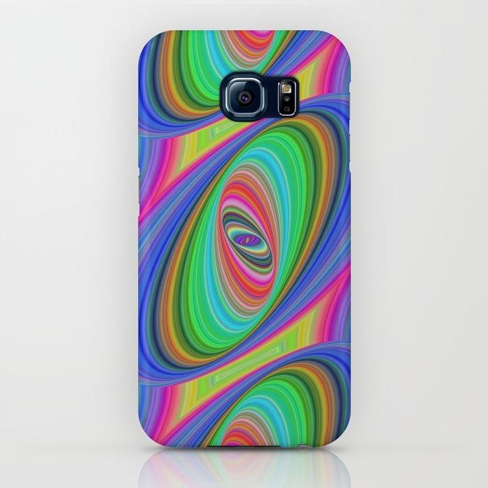 Ellipse pattern Samsung Galaxy S6 Case
