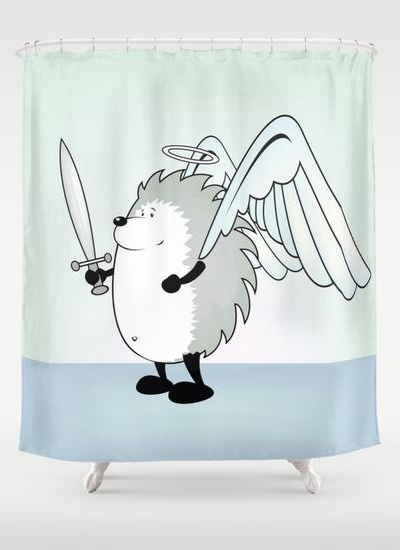 Good hedgie Shower Curtain