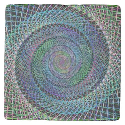 Spiral Stone Coaster