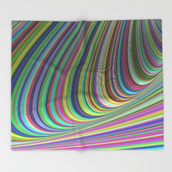 Illusion Throw Blanket