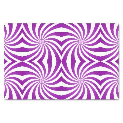 Purple seamless swirl pattern Tissue Paper