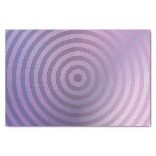 Light purple rings Tissue Paper