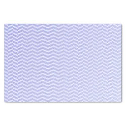 Light blue chevron pattern Tissue Paper
