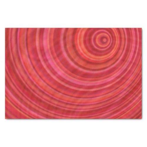Red vortex Tissue Paper