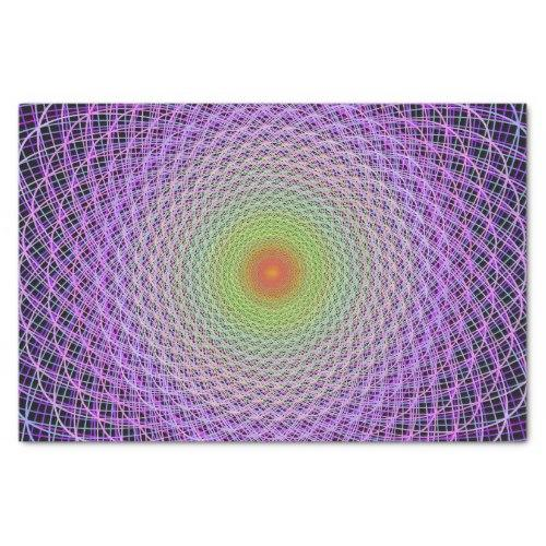 Colorful fractal Tissue Paper