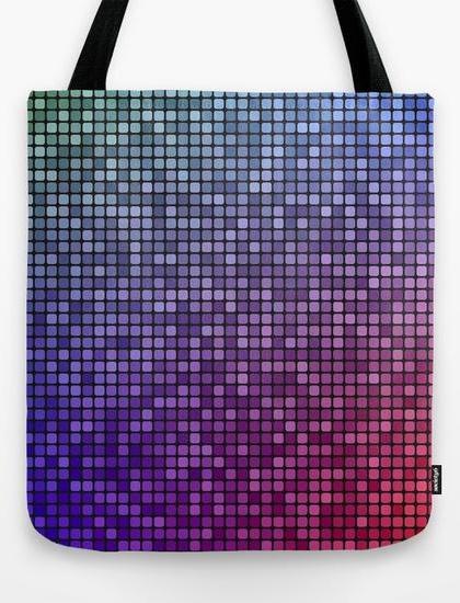 Colorful mosaic Tote Bag