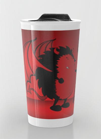 Bad hedgie Travel Mug