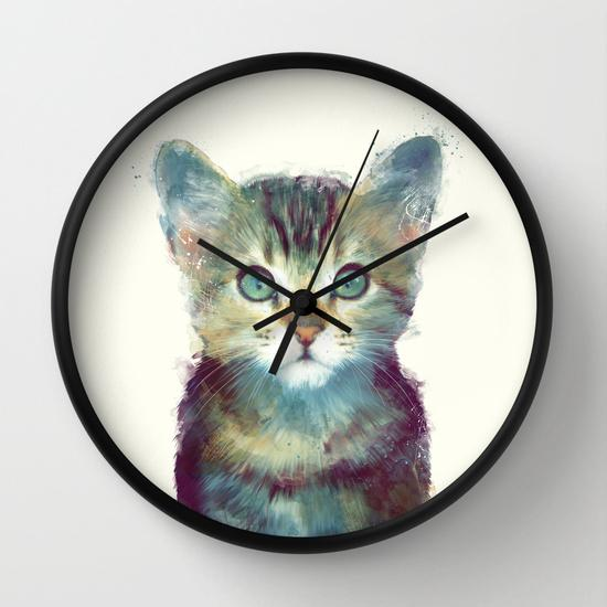 Cat - Aware Wall Clock
