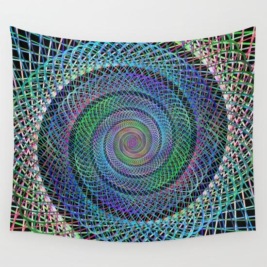 Spiral Wall Tapestry
