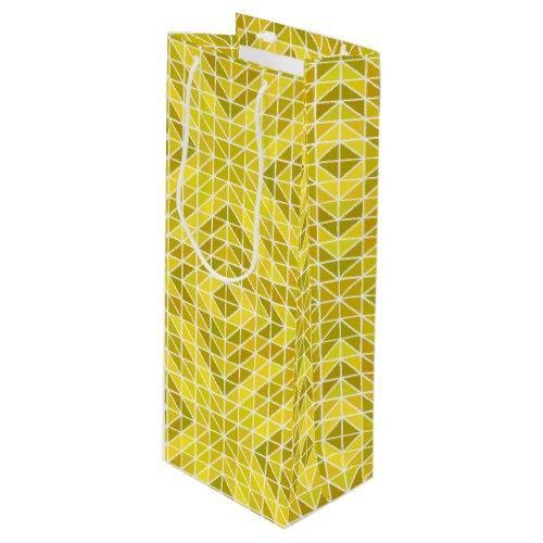 Geometry of the Sun God Wine Gift Bag