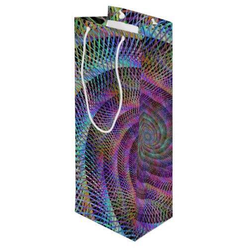 Spiral Wine Gift Bag